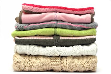 pranie i czyszczenie swetrów