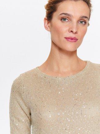 sweter damski z długim rękawem